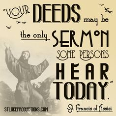 FRANCIS: TROUBADOUR OF PEACE was SLP's 2nd live drama ever produced. Happy Feast Day, St. Francis!