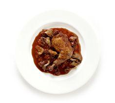 Coq something something - Braised Chicken with Mushrooms