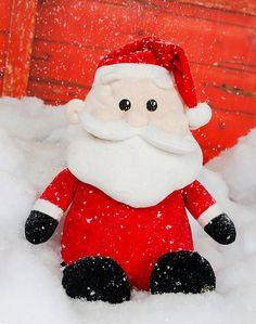 Santa Claus Cubbie® Custom Stuffy  by JillysMomMadeThat on Etsy