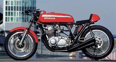 Love this classic CR750.