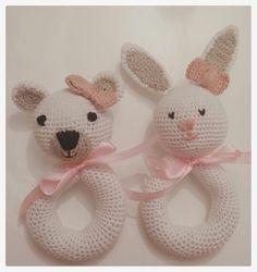 Sonajero crochet -creacionescuchufletos@gmail.com