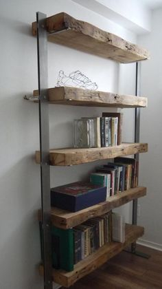 Love this shelving unit