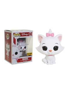 Funko Disney The Aristocats Pop! Marie (Flocked) Vinyl Figure Hot Topic Exclusive,