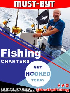 Who do you know that's a complete fishing FANATIC? Why not spoil them to a deep sea fishing trip of a lifetime? Fishing Charters, Deep Sea Fishing, News