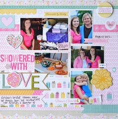 Showered with Love by Jen Chapin - Scrapbook.com