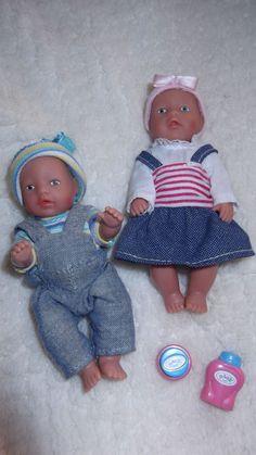 zwei Puppen Baby Born-Mini