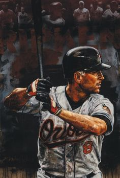 Cal Ripken, Jr. art, more @ http://www.TheSportsWonk.com