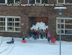Yup, could see my kiddos doing this and me applauding the cooperative learning aspect do it :) Team Work For a Noble Cause