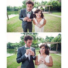Casamento também é diversão 😜 5 anos Junia e Licius ❤️ Parabéns pela história de vocês, e por esses anos de casados. Obrigada por transformar o mundo dos casamento a partir do seu junto com a Lore, mostrando que o diferente é ser diferente e especial, que o casamento não é só um evento mas sim um momento que tem que ter a cara dos noivos e fazer com que todos sintam isso.Por mais gente que ama o que faz 💟 #lapisdenoiva #juniaelicius #wedding #casamentonocampo #casamento #love #bride…