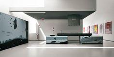Der absolute Designtraum: italienische Glasküchen von Valcucine. Unübertroffen in Design & Qualität!