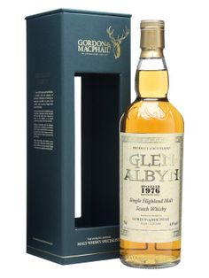 Glen Albyn 1976 / 43% / Gordon & Macphail : £205