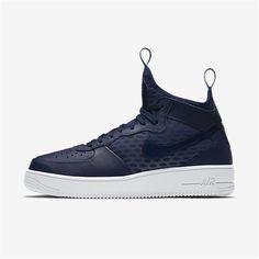 Nike Air Force 1 UltraForce Mid (Binary Blue / White / Binary Blue)