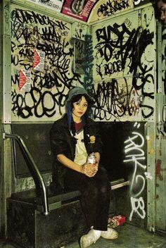 Lady Pink circa 1983 xu huong graffiti noi len thoi bay gio no rat dc gioi tre huong unh va den gio no van ton tai va ray fat trien da danh