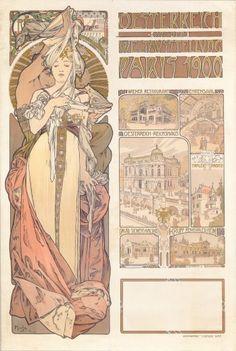 Alphonse Mucha, Austrian Pavilion, Paris, 1900 - Alphonse Mucha - Wikipedia, the free encyclopedia