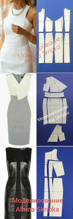 Sewing clothes diy dress 39 Ideas for 2019 Sewing Clothes Women, Diy Clothing, Fashion Sewing, Diy Fashion, Fashion Clothes, Fashion Ideas, Moda Fashion, Dress Sewing Patterns, Clothing Patterns