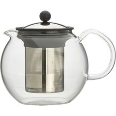 """I've got some wonderful loose teas that dream of being steeped in this little number. What a sleek yet classic teapot for """"spot o' tea"""" with friends that appreciate a wonderful afternoon cuppa!"""