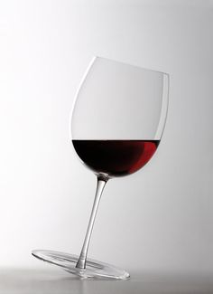 Wine glass.... I think these glasses would take a lot to get used to, I think I'd be paranoid.