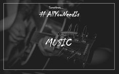 Sometime...all you need is...music