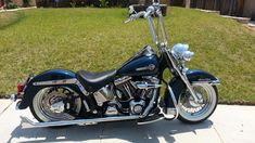 Buy 2004 Harley-Davidson Heritage Softail CLASSIC Custom on 2040-motos #harleydavidsoncustomsoftail