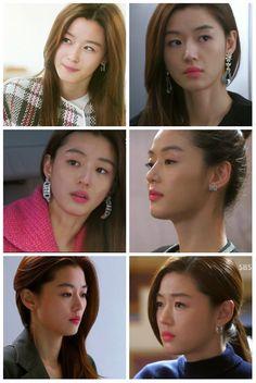 """S.Korean actress Jeon Ji-hyun (전지현) in the drama, """"My Love From the Star."""""""