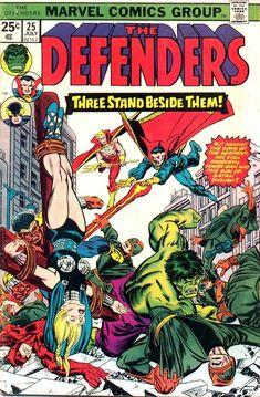 The Defenders Marvel Comics Marvel Comics, Marvel Comic Books, Fun Comics, Comic Books Art, Hulk Marvel, Comic Art, Avengers, Comic Book Artists, Comic Book Characters