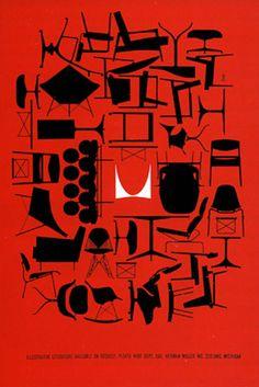Poster designed by Don Ervin, Herman Miller. (USA)