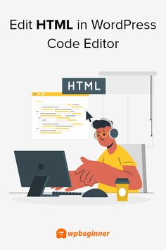 Do you want to easily edit the HTML code of your WordPress website? Find out how to edit WordPress HTML code in the code editor without breaking your site.