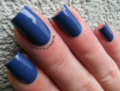 Catrice Pool Party at Night - Light Your Nails!  #nails #nailpolish #Catrice #blue