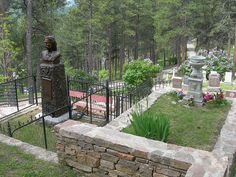 FAVORITE PLACE: Mt Moriah Cemetery, Deadwood South Dakota, Wild Bill Hickok & Calamity Jane's Graves