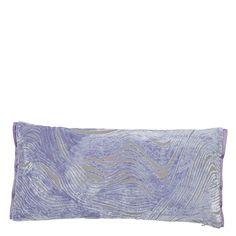 Aurelia Iris Throw Pillow | Designers Guild