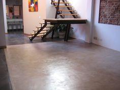 microcemento alisado micro piso cemento alisado revestimi Decor, Furniture, Home Furniture, New Homes, Table, Home Decor