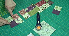 Tutorial: How To Make A Scrappy 4 Patch Quilt!