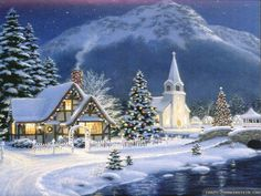 animated christmas wallpaper - Google Search