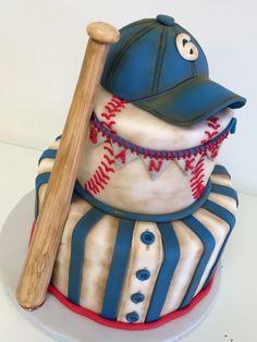Boys Baseball Themed Cake Ideas For Jack S 1st Birthday