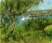 View of a Port - Raoul Dufy