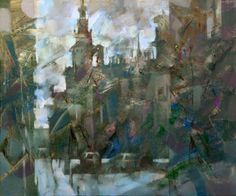 "Alexander Ilichev; Painting, ""Landscape. MADRID"", available at SaatchiArt.com"
