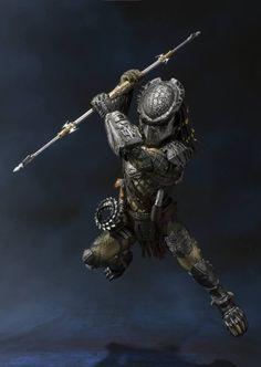 S.H. MonsterArts AVP Predator Wolf Hi-Res 02