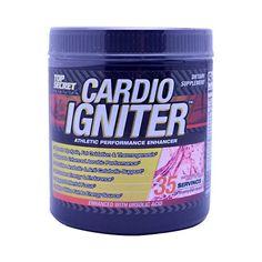 Top Secret Nutrition Cardio Igniter Watermelon 11.11 Oz