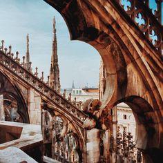 Duomo in Milano - Instagram by ftrc