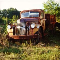 Classy old dump truck! Still runs just sitting out here on the farm! Had my senior pics taken here! Great memories.
