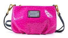 Marc By Marc Jacobs Classic Q Percy Crossbody Pop Pink Multi Leather Purse MARC JACOBS http://www.amazon.com/dp/B00FUQLUAI/ref=cm_sw_r_pi_dp_YOOnub0NMF18H