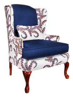 Love this chair!  #hgtvmagazine http://www.hgtv.com/decorating-basics/rehabbed-and-reupholstered-chairs/pictures/page-4.html?soc=pinterest