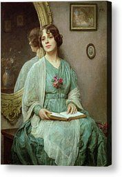 Reflections Canvas Print by Ethel Porter Bailey