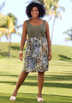 Cato Plus Size Fashion For Summer Camo Prints plus size Cato