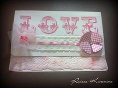 Cartão - Pink Love