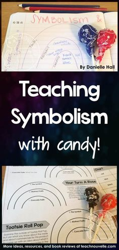 I finally nailed teaching symbolism to my students! Using candy was both efficient and engaging, and they kept referencing this lesson for the rest of the year. This strong foundation really helped their literary analysis skills. http://TeachNouvelle.com