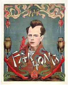 Fak Hongs - Vintage Magic Touring Poster (c.1920s)