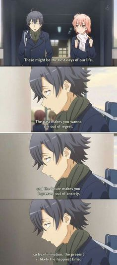 Oregairu life lessons #anime #quote