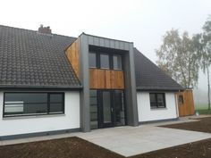 Home Building Design, Building A House, House Design, Bungalow Loft Conversion, Dormer Bungalow, Bungalow Homes, Forest House, House In The Woods, Spa