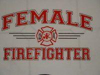 FEMALE #FIREFIGHTER